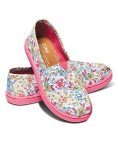 ba0e4b24fa9 Love this TOMS Inked Floral Classics - Youth