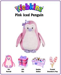 Pink Iced Penguin