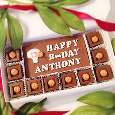 Basketball Chocolate Gift - Personalized Basketball Chocolate Squares - Unique Gift for Him - Sports Birthday Gift by DiamondChocolates on Etsy