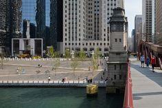 Chicago Riverwalk,© Kate Joyce Studios