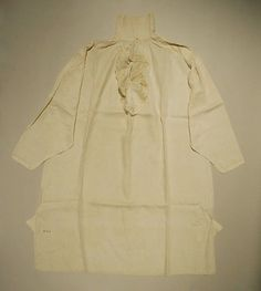 Shirt, 1808, Met museum
