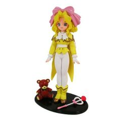 """Sakura Wars - Iris Chateaubriand 6"""" Figure by Bandai. $19.99. a 1½ inch teddy bear and a magical wand are included. Out of production figure since 1996. This out of production figure from 1996 was one of the few anime figures to boast detail and craftsmanship now found today. The character is Iris from Sakura Wars, and aside from this 6 inch figure, a 1½ inch teddy bear and a magical wand are included. The figure comes packaged in a blister card clamshell packagi..."""