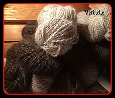 Handspun chiengora yarn