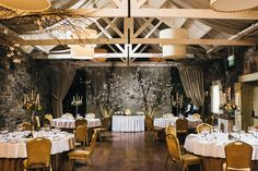 This beautiful wedding ceremony was held at Ballymagarvey Village during autumn time. Wedding Ceremony, Wedding Venues, Wedding Ideas, Dublin Ireland, Banquet, Wedding Pictures, Table Decorations, Weddings, Image