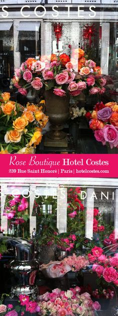 Hotel Costes Flowers