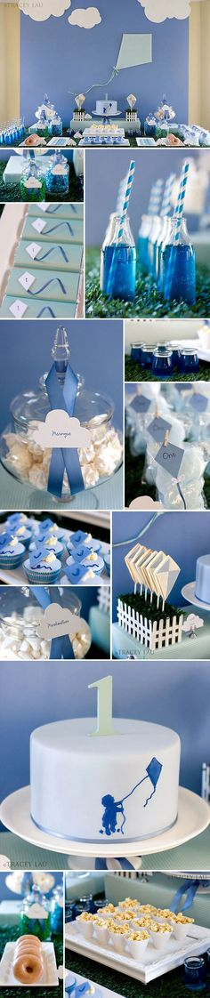 Cute first birthday party idea