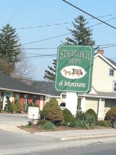 Welcome to Intercourse Pennsylvania (yes it is a real place)