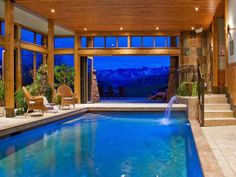 Oh my nice! People actually have this indoor pools in their homes on real estate market LOL.