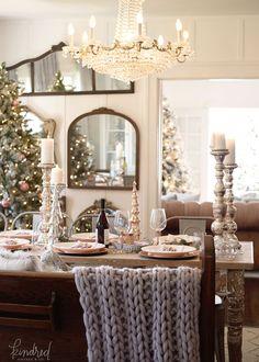 Christmas Dining Room  Christmas Tree Holidays And Christmas Decor Fair Christmas Decorations For Dining Room Design Inspiration