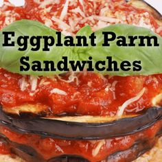 On The Chew July 15 2013, Mario Batali showed us his Eggplant Parm Hero Recipe, a quick recipe that you can whip up for lunch.