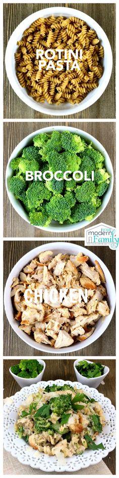 Alfredo Chicken Broccoli
