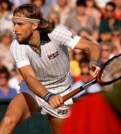 Would love to get my hands on a retro Borg Fila polo! Björn ...