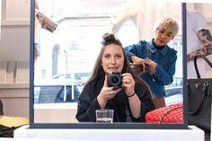 Afbeeldingsresultaat voor salon hair selfie