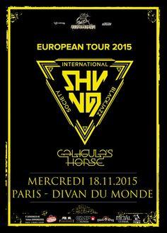 Shining (no) et Caligula's Horse en concert le 18 novembre 2015 à Paris