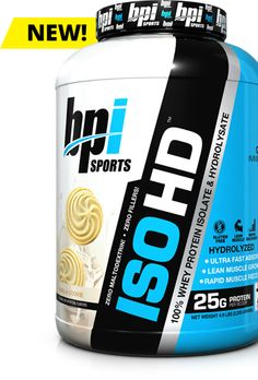 ISO-HD by BPI Sports at Bodybuilding.com - Lowest Prices on ISO-HD!
