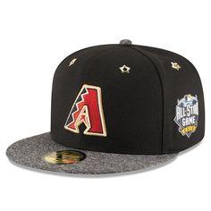 Arizona Diamondbacks New Era 2016 MLB All-Star Game Patch 59FIFTY Fitted Hat - Black/Heathered Black - $28.99