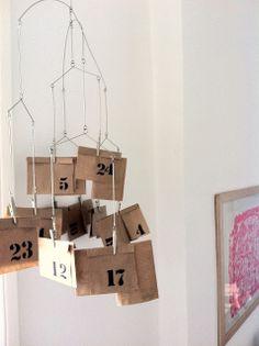 nino et jane joli calendrier de l'avent façon mobile