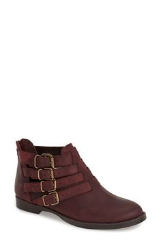 BELLA VITA 'Ronan' Buckle Leather Bootie (Women) (Online Only) available at #Nordstrom