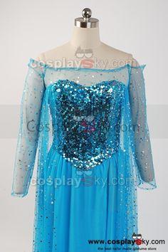 Pattern Elsa Frozen Dress | Elsa Frozen Dress Frozen snow queen elsa fancy