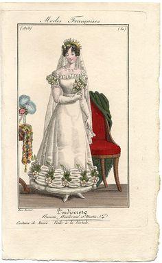 plate 50 - Modes Francaises -- L'Indescret
