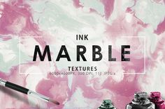 20%OFF 110 Marble Ink Paper Textures by ArtistMef on @creativework247