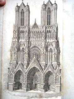 111530725_1811-antique-french-gothic-architecture-whittington-ebay.jpg (239×320)