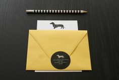 Dachshund Stationary :)