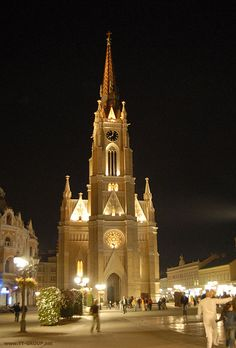 Catholic Cathedral,Novi Sad,Serbia