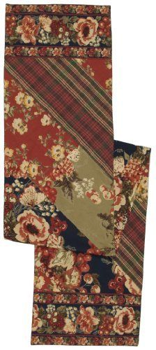 April Cornell Tablerunner, Vintage Harvest Patchwork Navy by April Cornell. $33.22. Tablerunner measures 13 by 72-inch. Navy floral and red plaid patchwork. Vintage patchwork motif. Machine washable. Made of 100-percent cotton. Using nature's colors, lines, forms and shapes as her guides, April Cornell's designs are an inspiration to make an occasion of every day. All April Cornell linens are printed in India where skilled craftsmen combine age-old practices with the mod...