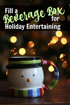 Are you ready to share a cup of good cheer with friends and family this month? Stock up and fill a beverage box so that you're more than ready for any festivities that arise. Sparkling Drinks, Homemade Syrup, Spiced Cider, Clean Eating Challenge, Yummy Appetizers, Appetizer Recipes, Good Cheer, Wine And Beer