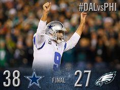 Share the WIN!! The Cowboys are now 10-4! #DALvsPHI #DallasCowboys #FinishTheFight