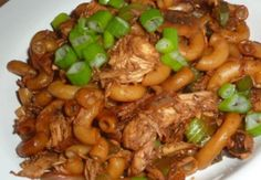 This ptitchef Macaroni Recipes, Pasta Recipes, Chinese Chicken, Chinese Food, Chinese Recipes, Food Dishes, Main Dishes, Steak Recipes, Food And Drink
