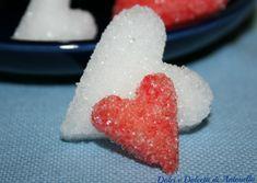 Zollette di zucchero a forma di cuore, Ricetta San Valentino