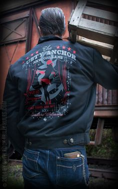Workerjacke - The Rusty Anchor by Rumble59 | Rockabilly - 50s Style