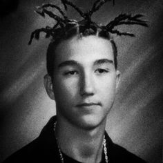 """""""When my daughter asks why she can't wear things she thinks are 'cool,' I show her this photo from my freshman year in high school."""""""