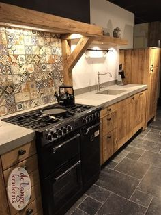 60 Contemporary Wooden Kitchen Cabinets For Home Inspiration. Choosing the perfect wooden kitchen cabinets for your home is not as simple as it might appear. While the choices are limited, . Wooden Kitchen Cabinets, Rustic Kitchen Island, Farmhouse Kitchen Decor, Kitchen Furniture, Kitchen Walls, Decorating Kitchen, Wooden Kitchens, Cupboards, Industrial Furniture