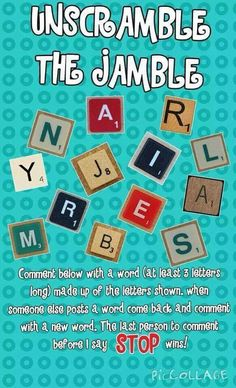 Jamberry scrabble                                                                                                                                                     More