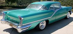 1957 Oldsmobile Starfire 98 with Power - Chevrolet Cobalt, Chevrolet Camaro, American Classic Cars, American Muscle Cars, Vintage Cars, Antique Cars, Oldsmobile 88, Mustang Cars, Pontiac Gto