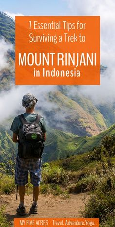 Think you're tough enough to handle a Mount Rinjani trek? If so, read on to discover the 7 essential tips you need to know before you go. Travel in Asia. Lombok, Travel Guides, Travel Tips, Travel Destinations, Travel Hacks, Travel With Kids, Family Travel, Hiking Tips, Travel Activities