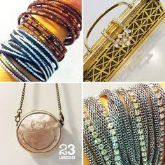 En 23CB puedes encontrar todo tipo  de accesorios para regalar estos reyes: pulseras de Strass, bolsos de fiesta, pendientes, collares... 23CB en Lagasca 83. https://www.facebook.com/23CBCristinaBarrilero