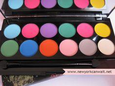 Sleek Ultra Matte Palette: V1 Brights | New York can wait...