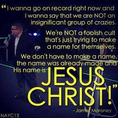James Maroney North American Youth Congress 2013