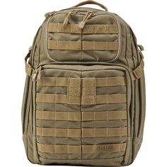 5.11 TACTICAL RUSH 24 BACKPACK, SANDSTONE - BRAND NEW WITH TAGS  #511Tactical