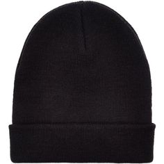 New Look Black Beanie Hat (1.490 HUF) ❤ liked on Polyvore featuring accessories, hats, beanies, black, beanie cap hat, beanie cap and beanie hats