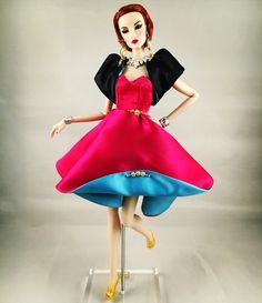 Fashion Royalty Doll, my dress creation