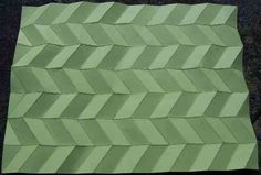 Pleated Structures - Basic pleating patterns