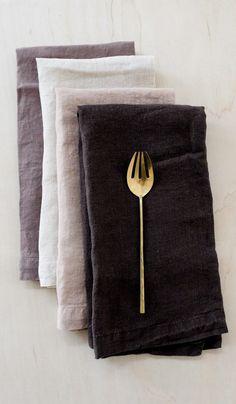 Matteo Vintage Linen Napkin
