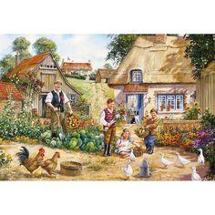 The Kitchen Garden by Jim Mitchell