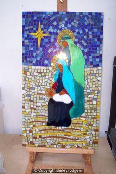 mosaic nativity