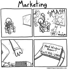 The definition of (push) Marketing